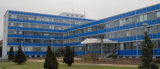 This is the building of the Institute of Information Theory and Automation, in which CBU has leased its offices and lecture rooms.