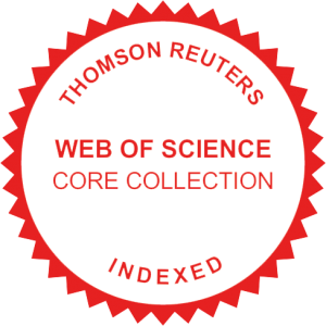 TR WOS Core collection badge